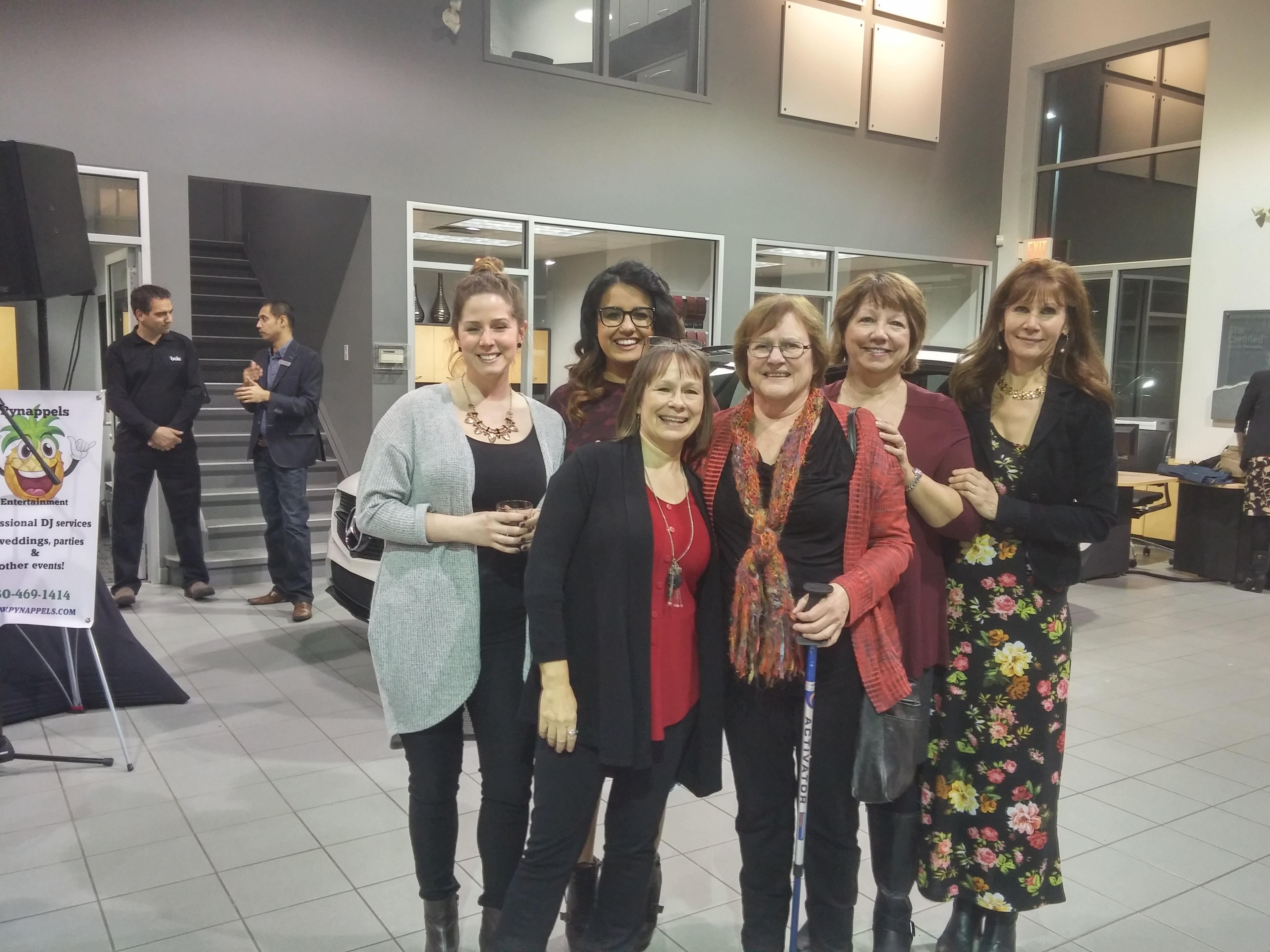 100+ Women Who Care KELOWNA donation